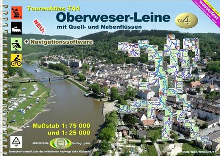 Jübermann TourenAtlas Wasserwandern Mecklenburg-Vorpommern ~ .. 9783929540796