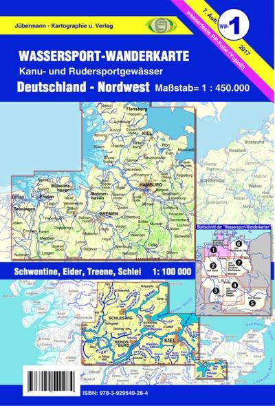 Wassersport Wanderkarte Ww1 Jübermann Kartographie Und Verlag